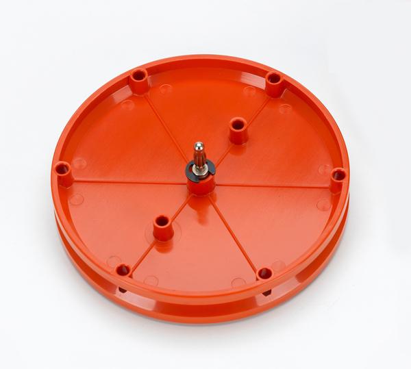 Rolle Ø 100 mm, steckbar