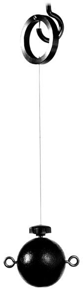Kugel mit Pendelaufhängung