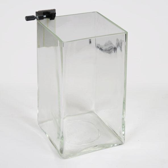 Glasgefäß zur Druckdose