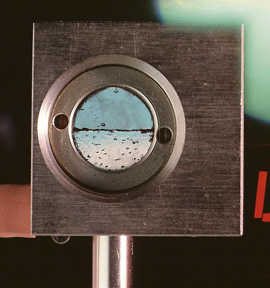 Druckkammer zur kritischen Temperatur