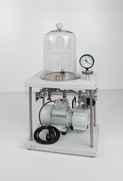 Vakuum-Experimentier-Pumpstand 1