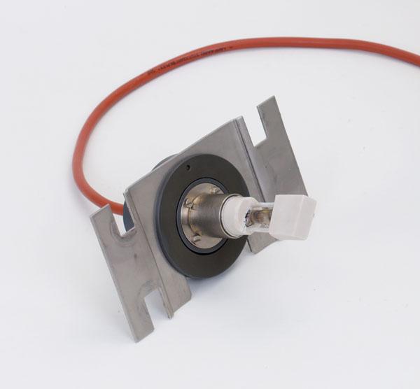 Spektrallampe Cd, auf Halteplatte