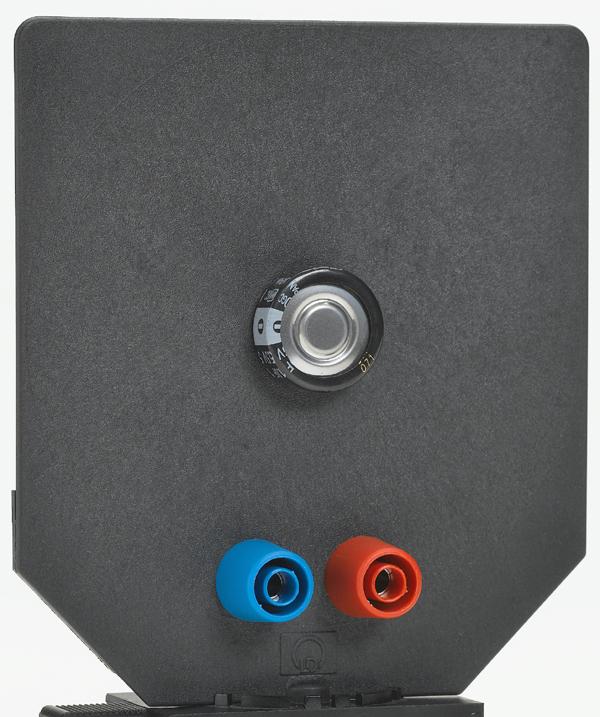 Kondensator 1 F, auf Blendschirm
