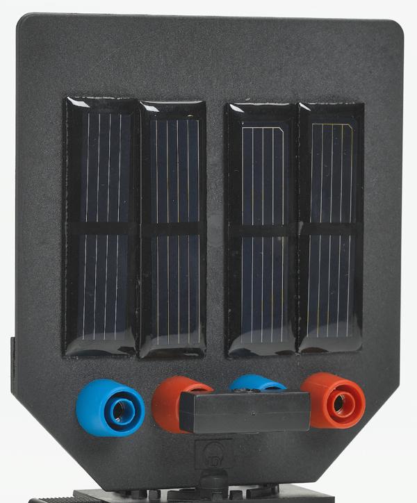 Solarmodul 2 V/150 mA, auf Blendschirm