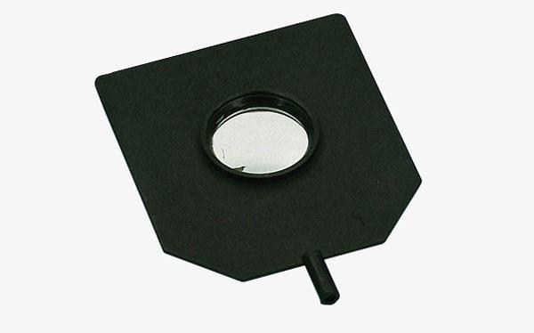 Konvex-Konkav-Spiegel auf Stiel