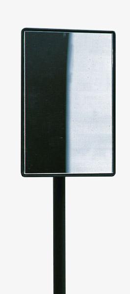 Planspiegel 14 cm x 9 cm, mit Kugelgelenk