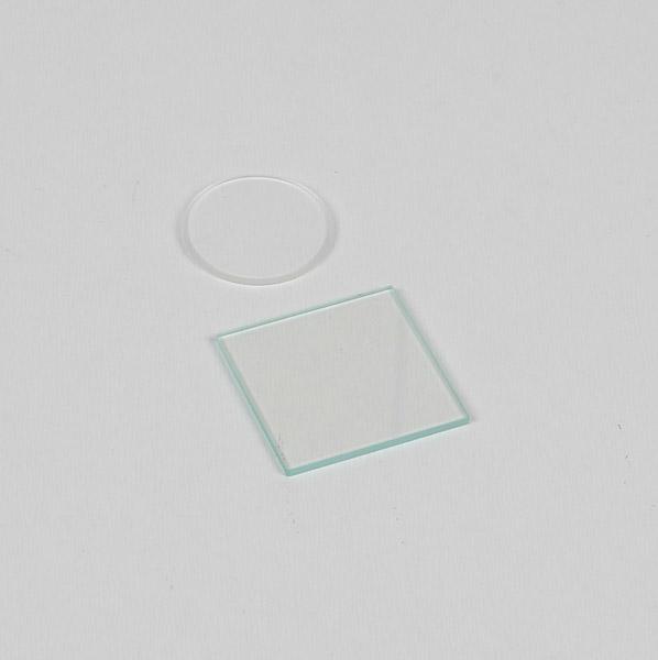 Platte und Linse für Newtonsche Ringe