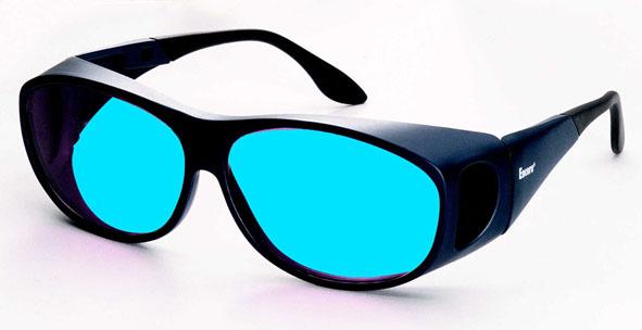 Justierbrille für HeNe-Laser