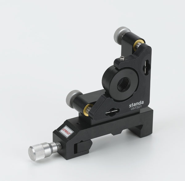 Laserspiegeljustierhalter, links