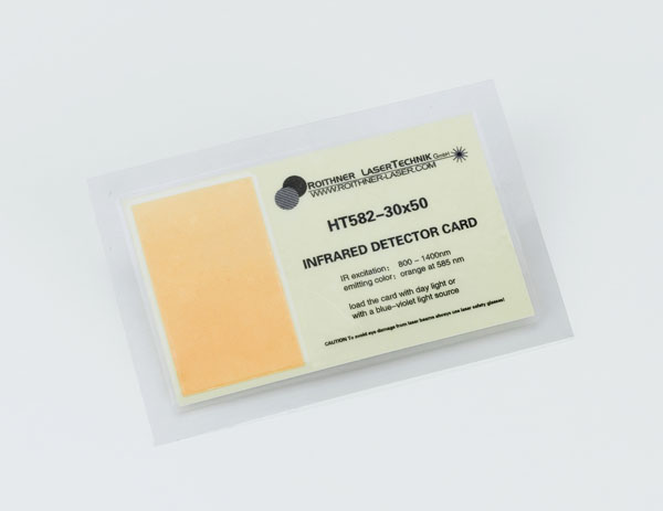 Infrarot-Wandlerkarte 800 - 1400 nm
