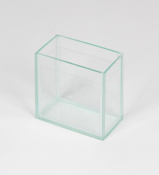 Glas-Trog (Küvette), 100 x 50 x 93 mm
