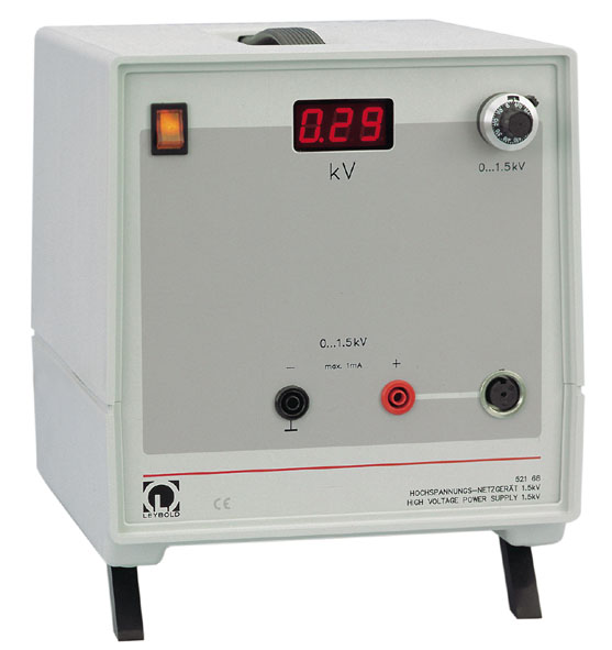Hochspannungs-Netzgerät 1,5 kV
