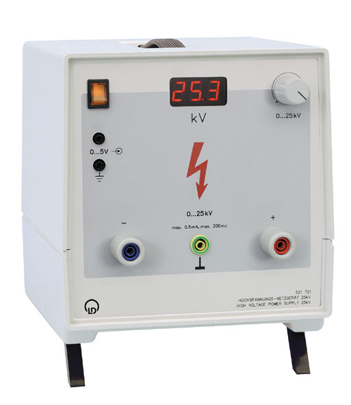 Hochspannungs-Netzgerät 25 kV