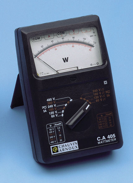 Wattmeter 1/3-phasig, C.A 405