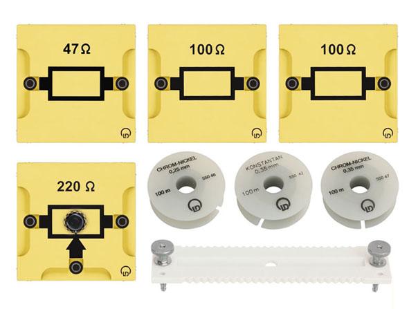 BST D Gerätesatz Elektrischer Widerstand