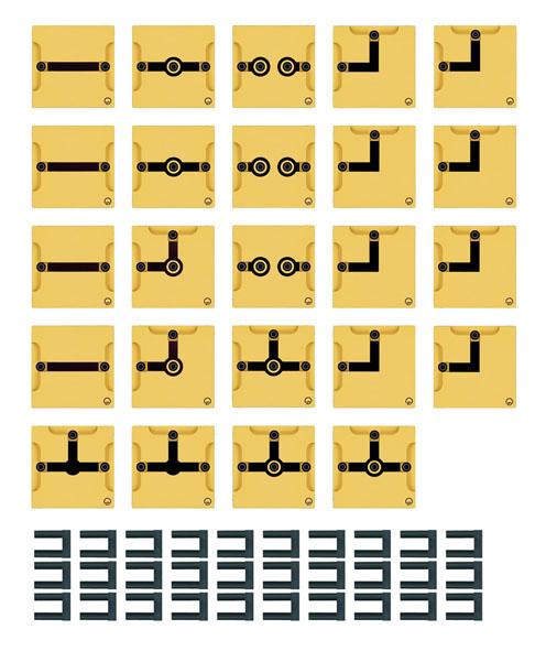 BST D Gerätesatz Leitungsbausteine