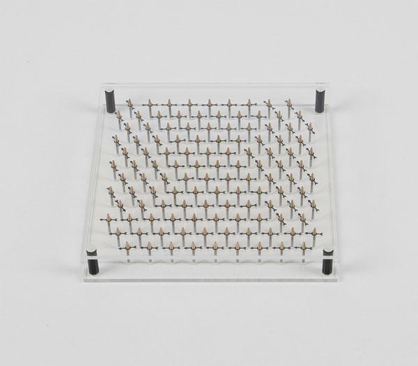 Magnetmodell, hexagonal