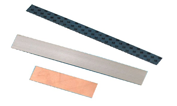 Blattfeder, Kontakt- und Bimetallstreifen