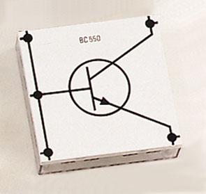 Transistor BC 550, NPN, E.u., STE 4/100
