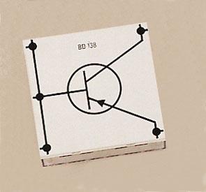Transistor BD 138, PNP, E.u., STE 4/100