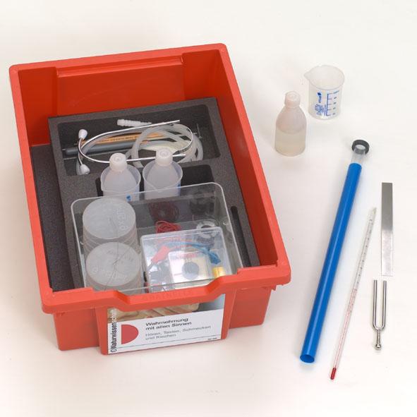 Science Kit Naturwissenschaften: Hören, Tasten, Schmecken, Riechen