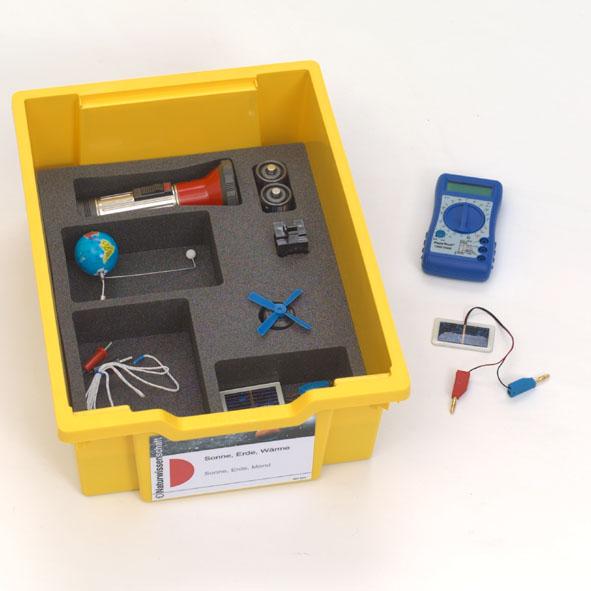 Science Kit Naturwissenschaften: Sonne, Erde, Mond