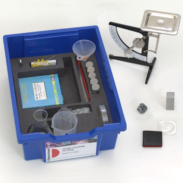Science Kit Naturwissenschaften: Stoffe im Alltag