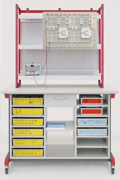 Demo-Experimentierwagen-Komplettpaket: Mechanik-Optik-Elektrik (STE)