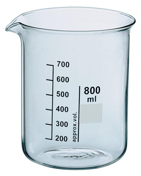 Becherglas Boro 3.3, 2000 ml, nF