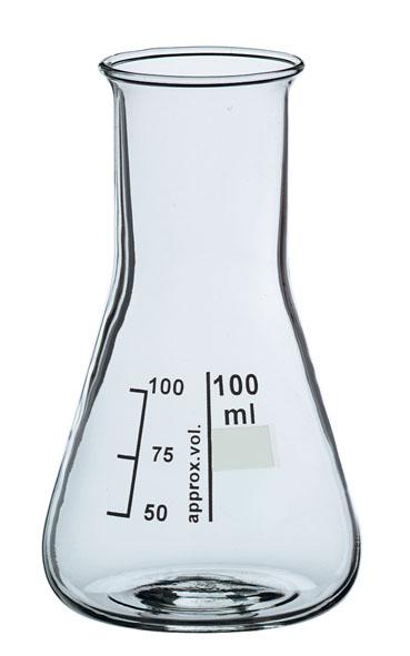 Erlenmeyerkolben Boro 3.3, 25 ml, wH