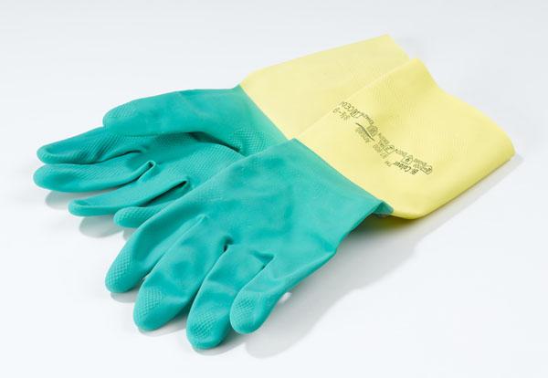 Schutzhandschuhe, Latex, groß