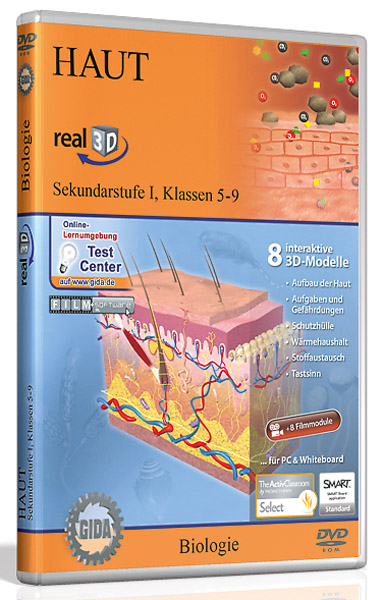 DVD: Haut - Software real3D
