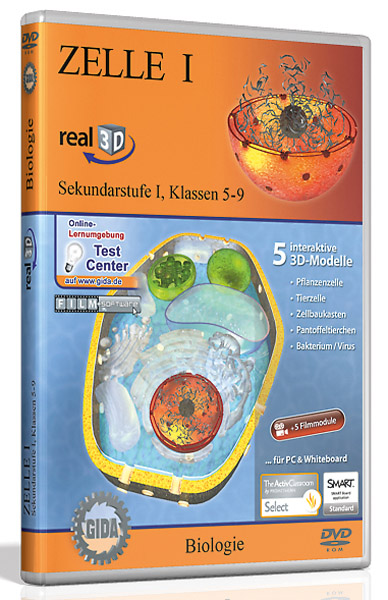 DVD: Zelle I - Software real3D
