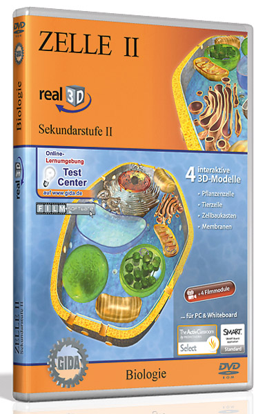 DVD: Zelle II - Software real3D
