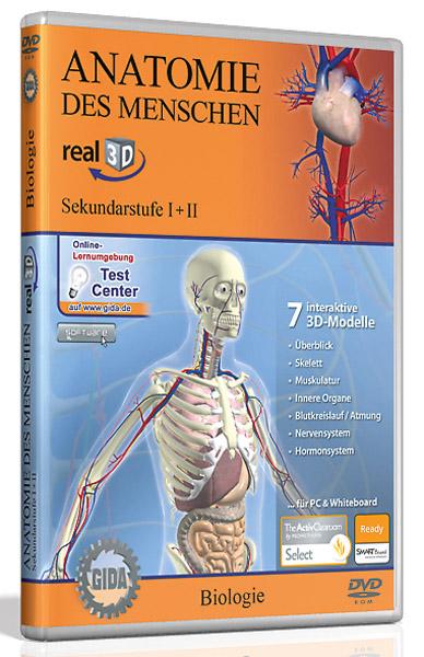 DVD: Anatomie des Menschen - Software real3D