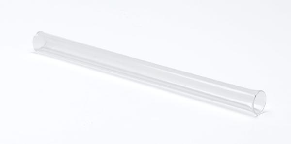 Reaktionsrohr Quarzglas, 300 x 20 mm Ø, SB 19
