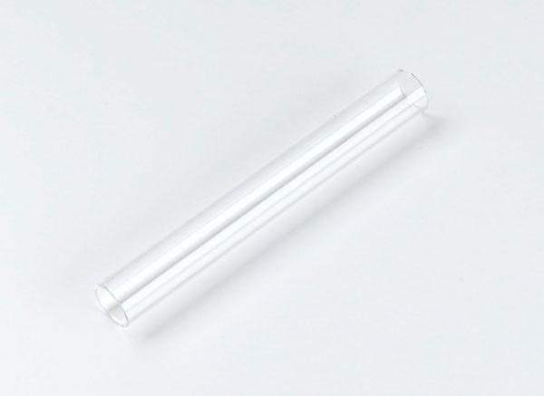 Reaktionsrohr, Quarzglas, 160 x 20 mm Ø