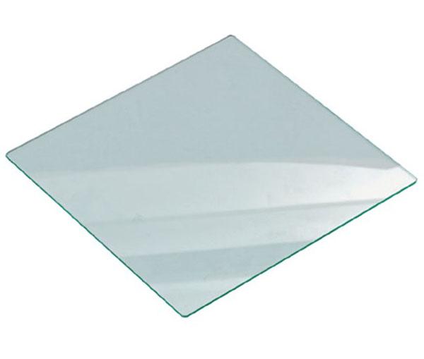 Glasplatte 120 mm x 120 mm x 4 mm