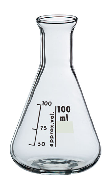 Erlenmeyerkolben Boro 3.3, 50 ml, eH