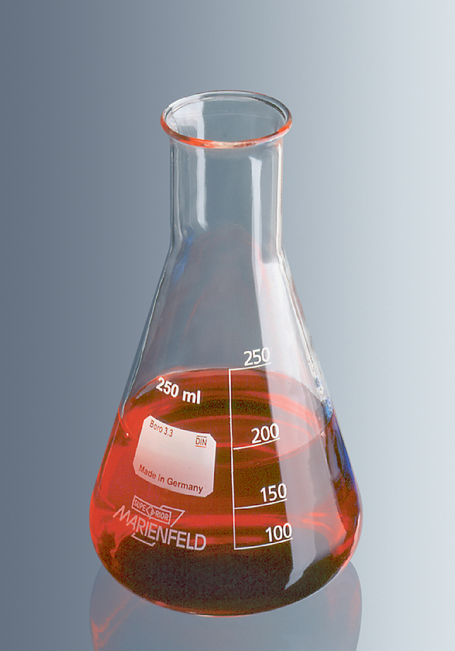 Erlenmeyerkolben Boro 3.3, 250 ml, eH