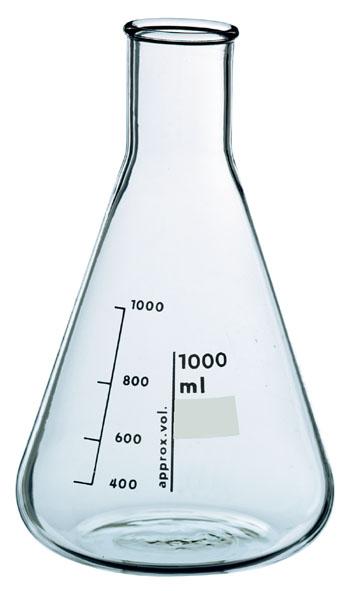 Erlenmeyerkolben Boro 3.3, 2000 ml, eH