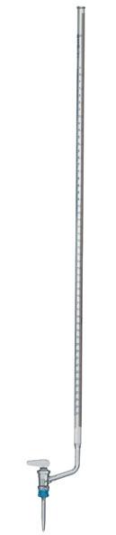 Bürette Klarglas, 25 ml, seitlicher Hahn (PTFE)