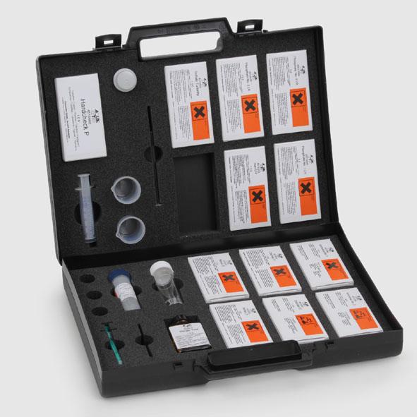 Photometrie - Reagenziensatz 1 (mit Koffer und Zubehör)