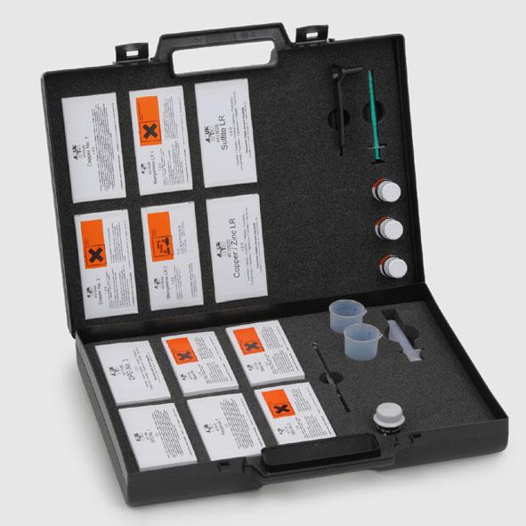 Photometrie - Reagenziensatz 2 (mit Koffer und Zubehör)