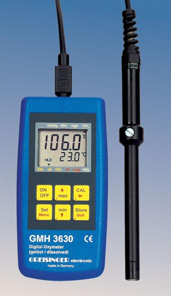 Digitales Sauerstoff-Messgerät