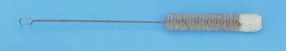 Reagenzglasbürste mit Kopfbündel 20 mm Ø