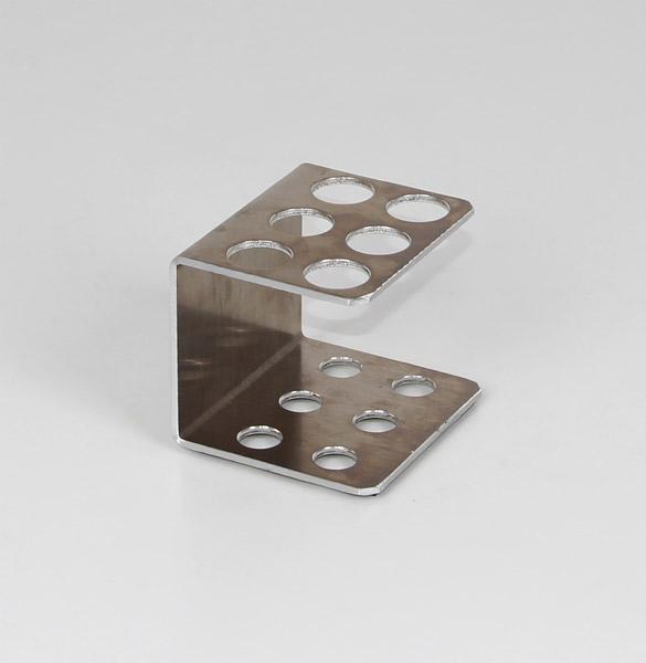 Reagenzglasgestell Metall 20 mm Ø