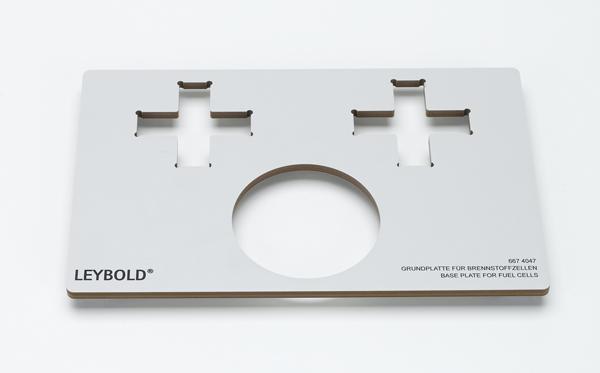 Grundplatte für Brennstoffzellen