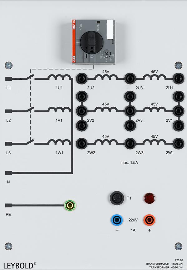 Transformator 45/90, 3N
