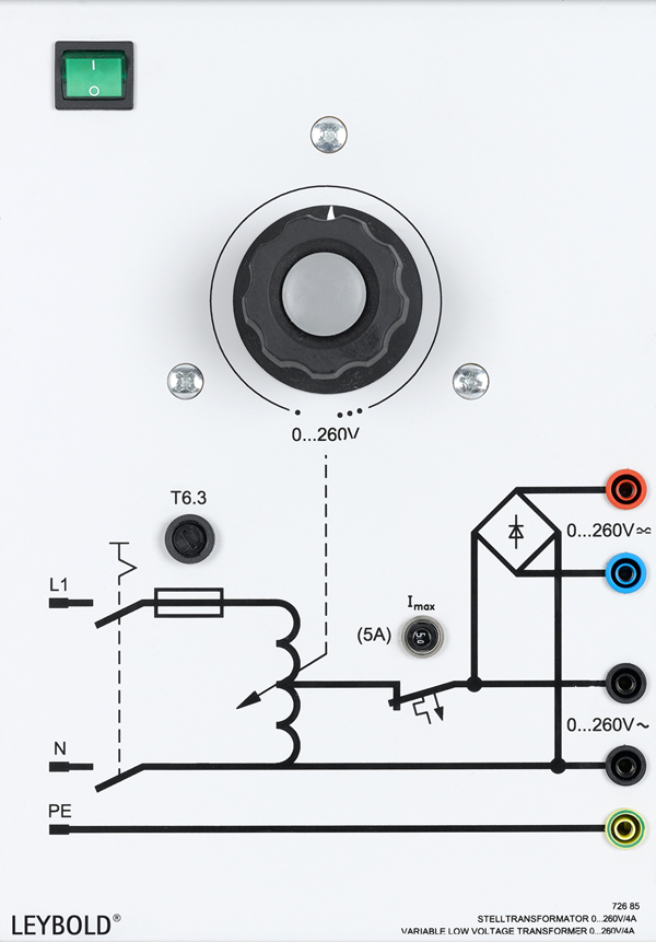 Stelltransformator 0...260 V
